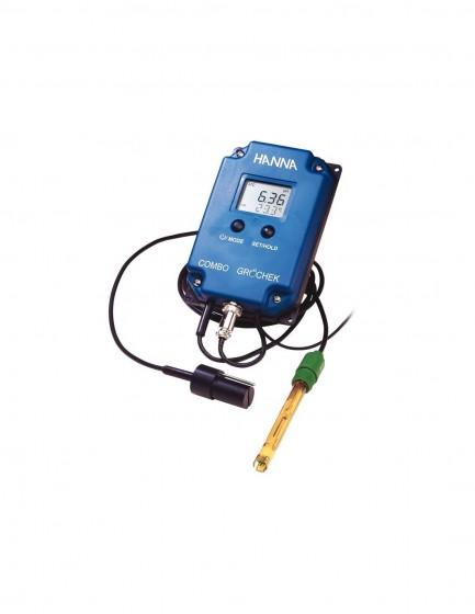 HI 991405-02 Wskaźnik pH/EC/TDS/°C do stałego nadzoru, zakres do 20.00 mS/cm