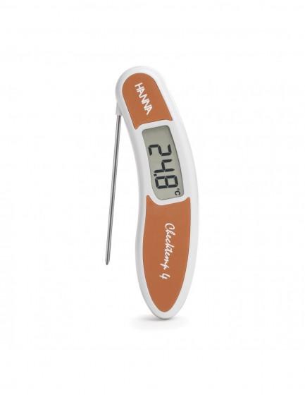 HI 151-5 Termometr Checktemp 4 / brązowy