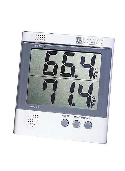 Termometr z zegarem