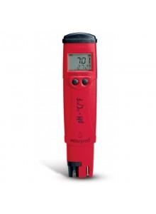 Tester pH / °C z wymienną elektrodą