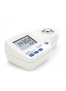 HI 96800 Cyfrowy refraktometr - współczynnik załamania światła i pomiar Brix w %